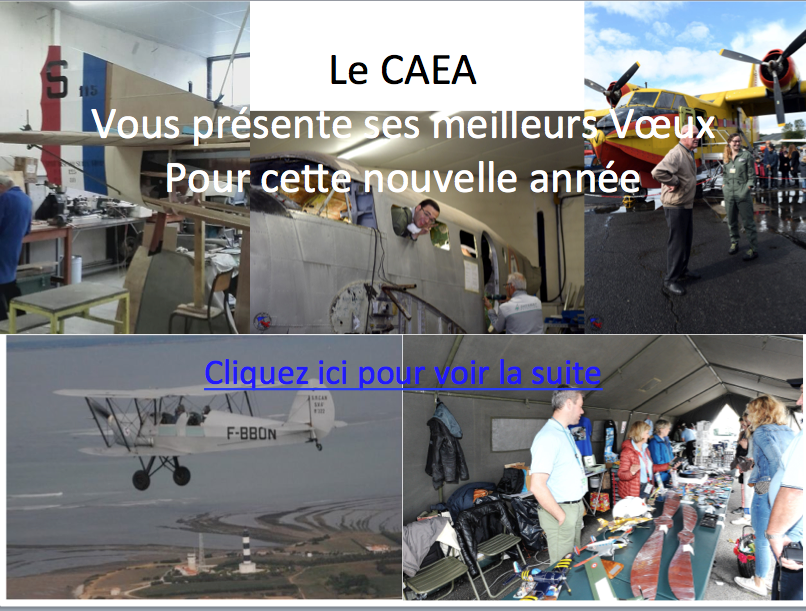 Voeux CAEA 2018